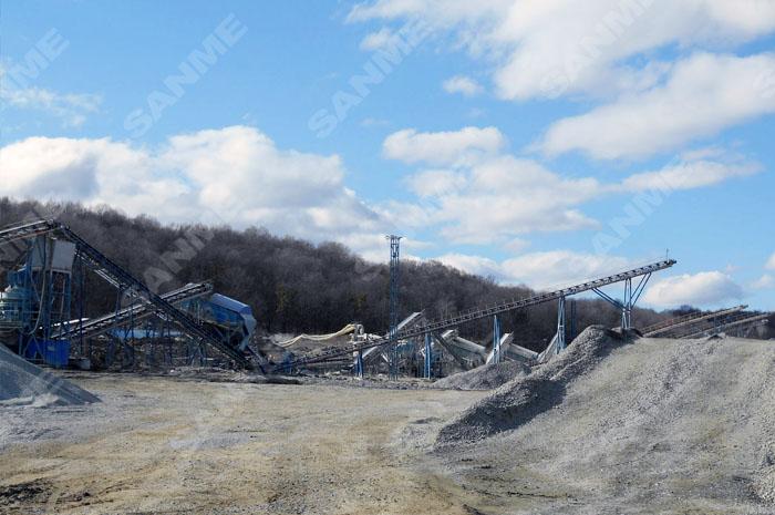 蛇纹岩制砂生产xian